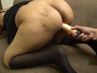 Indian Mistress Fuck by Dildo With Servant