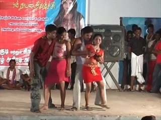 TAMILNADU GIRLS SEXY DANCE INDIAN 19 YEARS OLD NIGHT SONGS'WITH BOY DANCE F