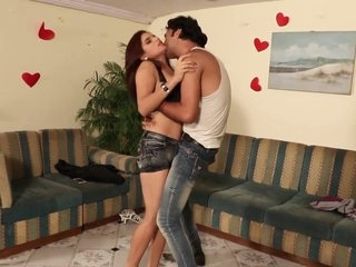 Hot short film 14 - Priya Tiwari boobs pressed, kissed & navel kissed hard
