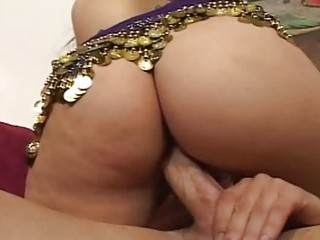 Hot indian whore takes a big cock in her wet pussy