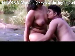 Indian Mallu Sex in River side