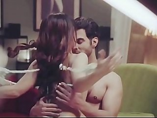 Indian webseries acterss two girls and one boy making sex and romance