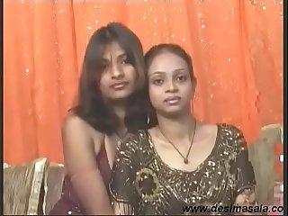 Desi Horny Indian Girl Khushi Enjoy Lesbian Sex with Girl Friend