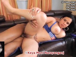 Indian Nri Bhabi with a big booty has hot sex, HD