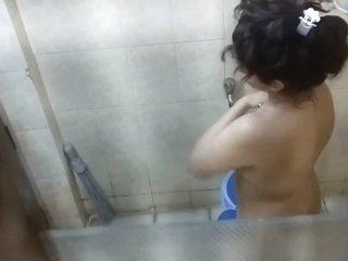 Dumb indian capture foolish spy taking bath captured nude