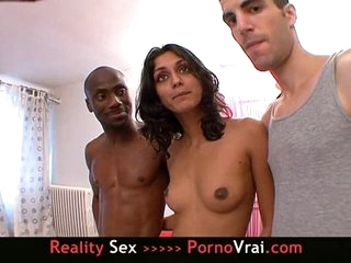 French amateur Arab girl say my pussy is open bar!