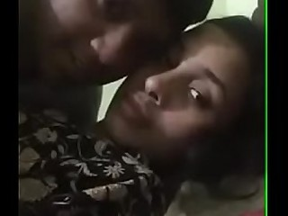 Desi Horny Maid with house owners son kissing boobs