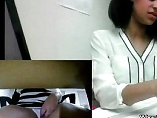 Indian Desi Teen Almost Caught Masturbation At Work In Public Office