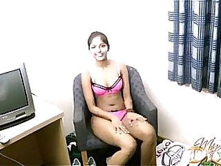 Amateur Indian chick Divya and her toy
