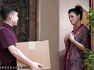 She Rewards Him With A Body Massage