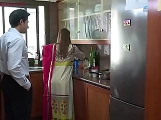 Slutty Indian whore fucks husband's boss