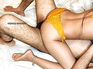 Brother-in-law comfortably fuck me pussy is intended to tear in clear Hindi voice MOHINI MADHAV