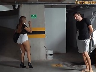 Colombian Mature Gets Picked Up From A Car Park And Gets Her Fake Ass Destroyed