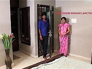 indian beautiful teacher tempting to her student for romance.......telugu hot shortfilm