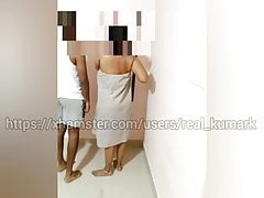 Tamil progenitrix nude at dwelling infront of foetus