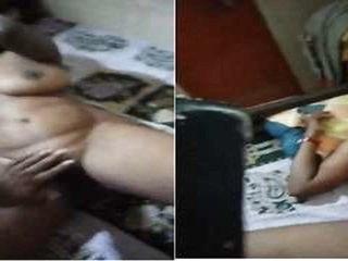 Today Exclusive- Sexy Mallu Bhabhi Boob and P...